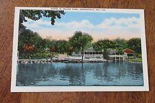 Vintage postcard Scene in Doling Park Springfield MO Missouri