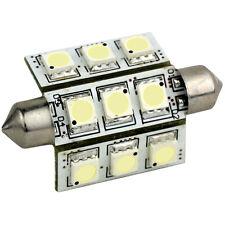 Lunasea Pointed Festoon 9 LED Light Bulb - 42mm - Cool White