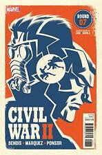 Civil War II # 7 Cho Variant Cover NM