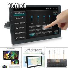 "10.1"" Android 9.1 1DIN 1GB+16GB Car Bluetooth Stereo Radio GPS Navi MP5 Player"