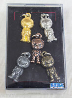 Evangelion Zipper Figure Charm Set Rei Ayanami Plug Suit SEGA JAPAN ANIME