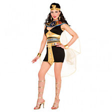 Ladies Fancy Dress Outfit Cleopatra Egyptian Princess Goddess Costume UK 8 - 10