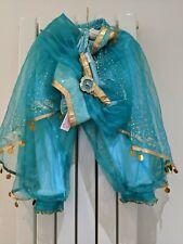 Le Ragazze Principessa Disney Store Jasmine (Aladdin) Costume Età 4 anni in buonissima condizione