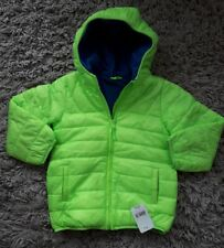 MOTHERCARE BOYS HOODED PADDED WARM FLEECE LINED SCHOOL COAT AGE 5 YEARS NEW BNWT
