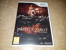 Project Zero 2 -- Wii Edition (Nintendo Wii, Wii U, 2012)