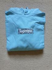 Supreme Bandana Box Logo Hoodie - FW/19 Blue