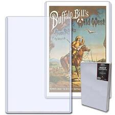 1 Case (50) BCW 11x17 Art Print Topload Holder (Top loader/toploader)