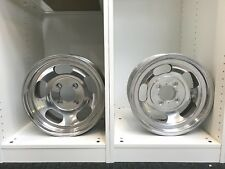 "Two Shelby 14 x 6 CAL .500 ""Slot Mag"" Magnesium Wheels 4-bolt Pattern"