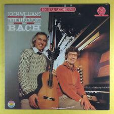 John Williams & Peter Hurford Play Bach - CBS Masterworks Digital 37250 Ex