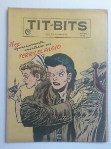 TERRY AND THE PIRATES! -TIT-BITS #2376 (1955) - IN SPANISH - ARGENTINA