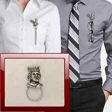 Richard I R105 Pin broche Aro de gota de estaño Soporte para gafas, Bolígrafo, Joyería