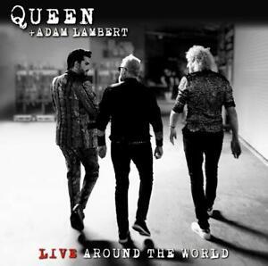 Queen and Adam Lambert - Live Around the World - New CD/Blu-ray