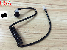 TWIST ON BLACK TUBE FOR SECURITY EARPIECE - COILED AIR TUBE FOR HEADSET
