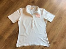 LA MARTINA Polo-Shirt weiß Gr. XXL Damen