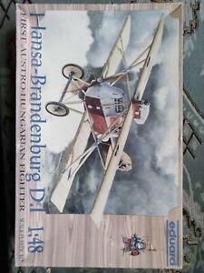 Eduard 1/48 Hansa Brandenburg D. I