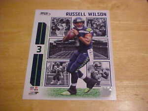 Russell Wilson Seahawks Action Plus 8x10 Photo Licensed 3 or more Free Shipping