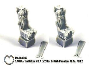 MST48052 NEW MasterCasters 1:48 British Phantom FG.1 / FGR.2 Martin Baker MB.7