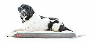 Brindle Shredded Memory Foam Dog Bed with Removable Washable Cover-Plush Orth...