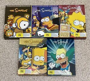 The Simpsons Season 6, 7, 9, 10 & 11 DVDs