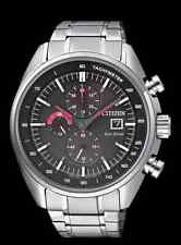 Brand New Citizen Eco-Drive Stainless Steel Chrono Sports Watch CA0590-58E