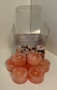 Unused 7 Yankee Candle Stargazer Lily Tea Light Candles Scented Box Floral