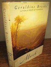 1st/1st Printing MARCH Geraldine Brooks PULITZER PRIZE Fiction MODERN Classic