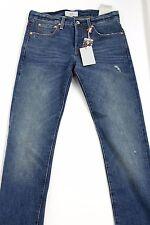 $298 Jack Spade Mens 28 x 34 BT-02 Selvage Slim Fit 4 Year White Oak Jeans USA