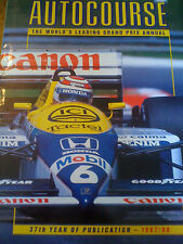AUTOCOURSE 1987-88 GRAND PRIX ANNUAL