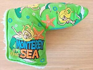 Titleist Scotty Cameron 2010 Monterey By The Sea Mermaid Blade Putter Headcover