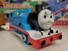 Tomy Plarail Original Blue Steam Along Thomas Box Set Trackmaster