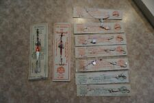 Lot of assorted Joe Pepper's spinners, vintage fishing lures