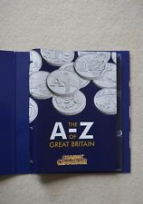 More details for  2019 a-z full set of 26 alphabet 10p with album and completer medal