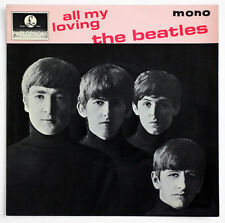 THE BEATLES All my loving 4th pressing england UK Parlophone GEP 8891 EP