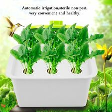 6 Holes Plant Site Hydroponic System Grow Kit Bubble Indoor Garden Cabinet GH