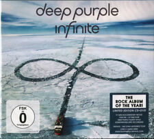 DEEP PURPLE ‎– INFINITE CD & DVD LIMITED EDITION (NEW/SEALED)