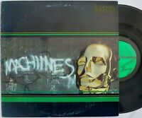 Lem MACHINES rare private press lp Wavefront WF-1001 electronic synth funk 1977