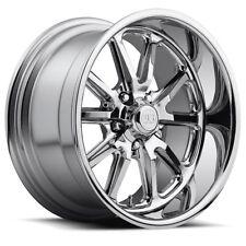 "Staggered US Mags U110 Rambler 20x8.5,20x10 5x4.5"" +32mm Chrome Wheels Rims"