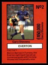 Emlyn Hughes's Team Tactix-Stevens (EVERTON) No 2