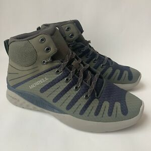 Merrell J97119 Dusty Olive Athletic Hiking Shoe Boots- Green Mens Size 9