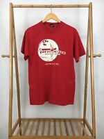 VTG Fruit Of The Loom New River Outfitters 50/50 Red Short Sleeve T-Shirt XL USA