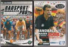 CYCLISME Manager Pro 2007 + Handball Manager 2008 Collection Jeux PC