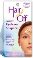 HairOff Instant Eyebrow Shapers 18 Each (Pack of 2)
