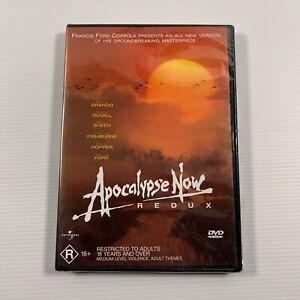 Apocalypse Now Redux (DVD, 2002) Robert Duvall, Marlon Brando Region4 new sealed