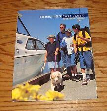 Original 2001 Bayliner Ciera Classic Foldout Sales Brochure 01