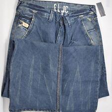 NWT Blue Blood Mens Size 33 × 34 Medium Wash  Blue Denim Jeans
