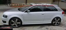 Seitenschweller für Audi A3 S3 8P Seitenleisten S-Line Schweller 3 Türer