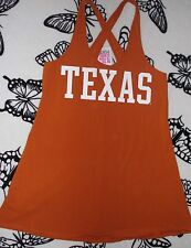 VICTORIA'S SECRET PINK UNIVERSITY OF TEXAS LONGHORNS TANK DRESS L!