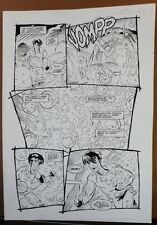 JONNY DEMON #3 PG 11 1994 ORIGINAL ART BY NEIL VOKES & BRUCE PATTERSON-DARK HORS Comic Art