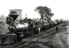 1909 Cottage Grove OREGON PHOTO O & SE RR Logging Train