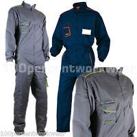 Delta Plus Panoply M6COM Mens Work Overalls Boiler Suit Coveralls Mechanics New